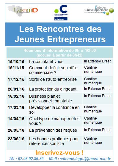 Rencontre des jeunes entrepreneurs2